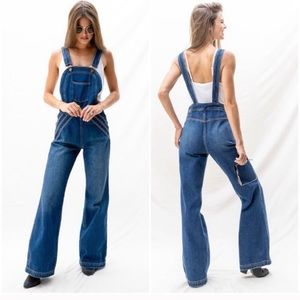NWT Free People Rolling Hills Overalls 2